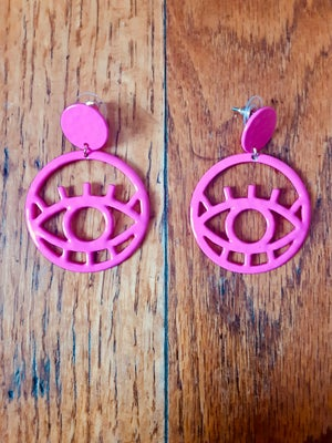 "Image of ""Eye Believe"" Earrings Il"