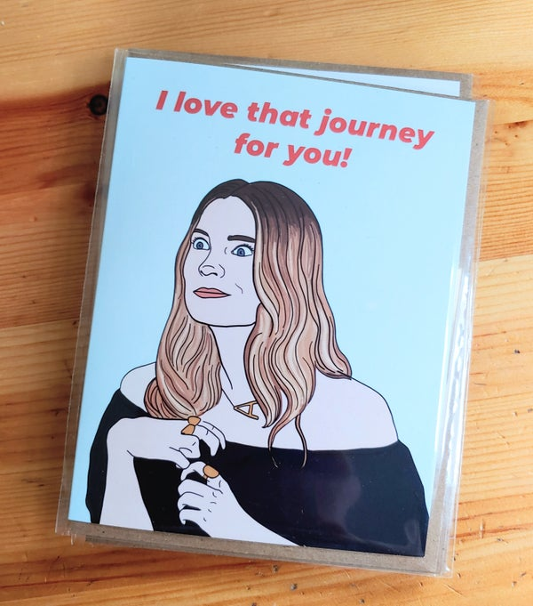 Image of Alexis Love That Journey For You Card