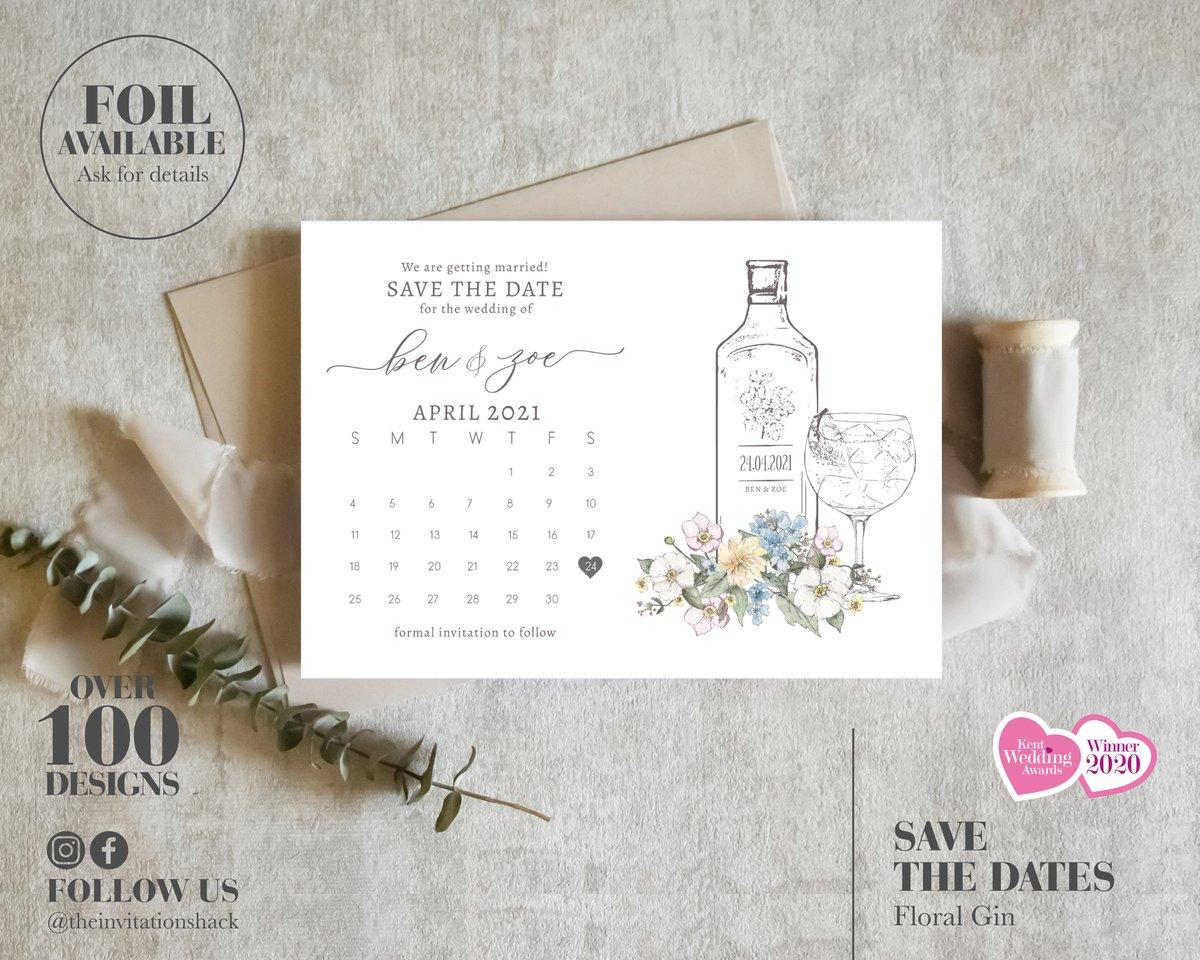 Floral Gin Calendar