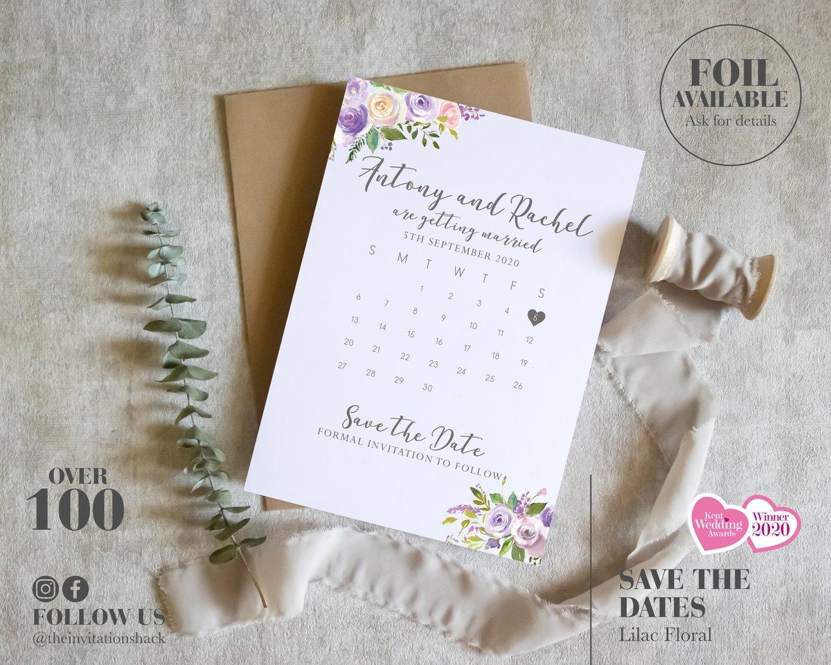 Lilac Floral Calendar