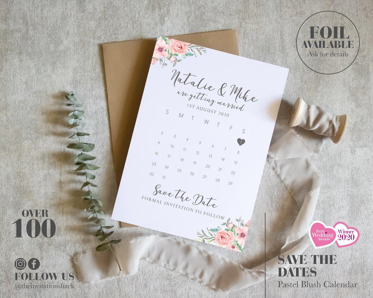 Pastel Blush Calendar