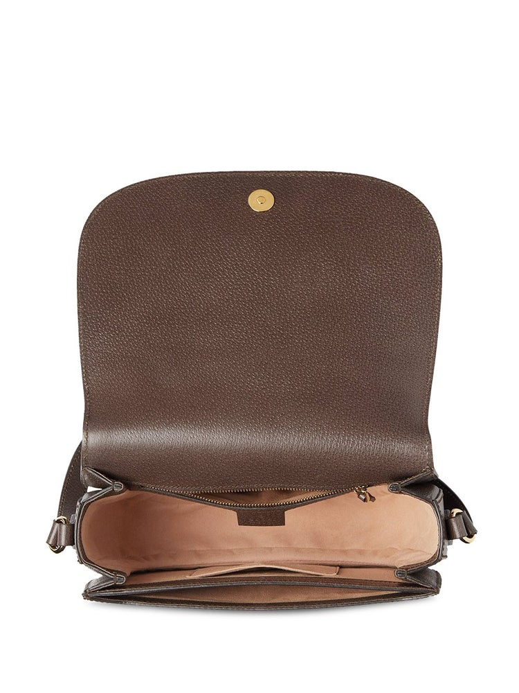 Image of Gucci Ophidia Brown Gg Supreme Canvas Cross Body Bag