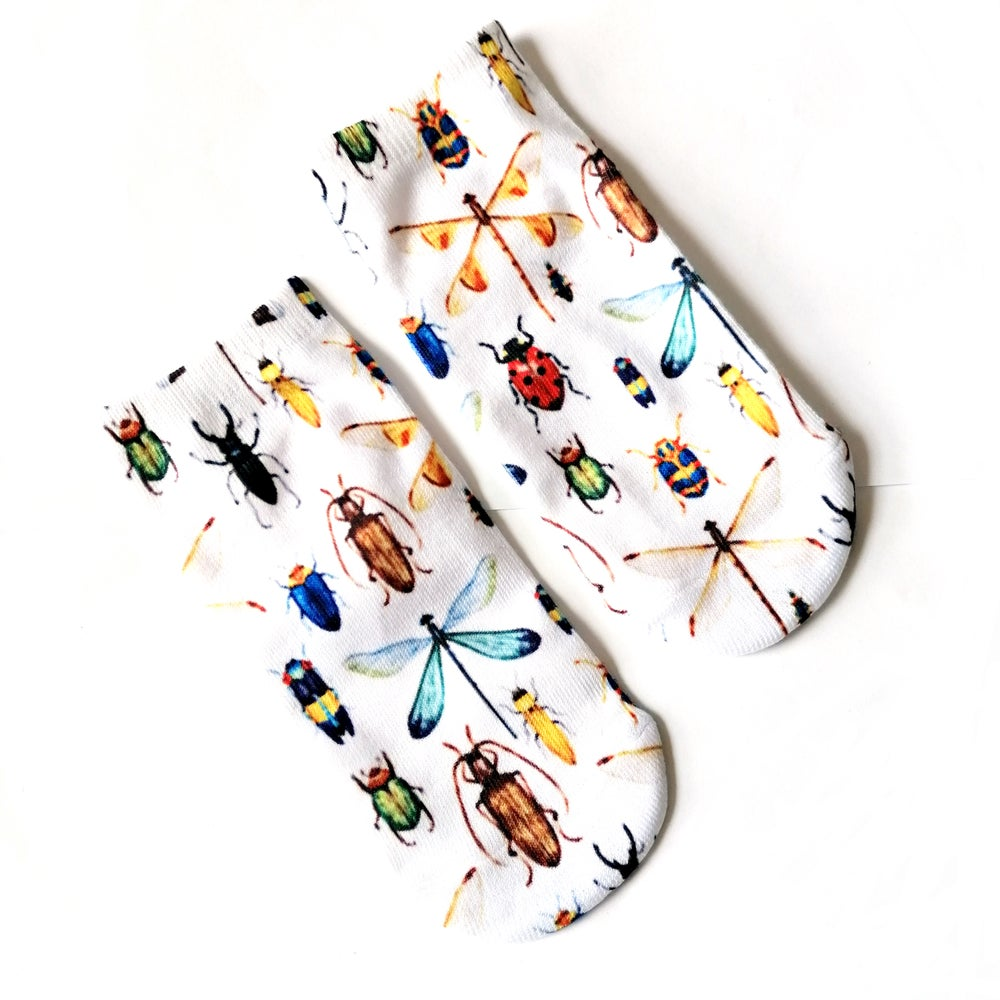 Image of Insect Print Cosy Socks