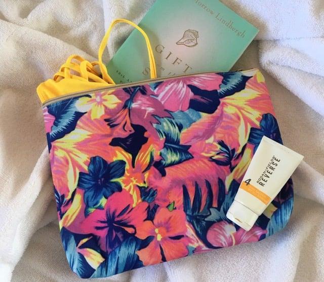 Tropical Garden WaterProof Bag