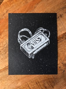 Image of VHS Love Print