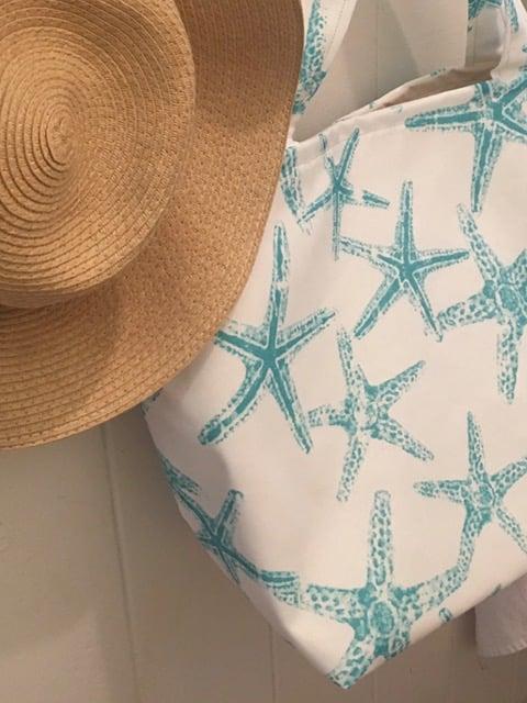 Starfish Beach Tote