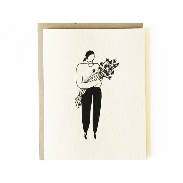 Image of Nicole Monk Flowers Card