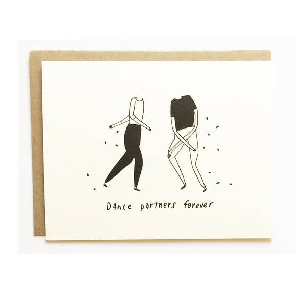 Image of Nicole Monk Dance Partners Card