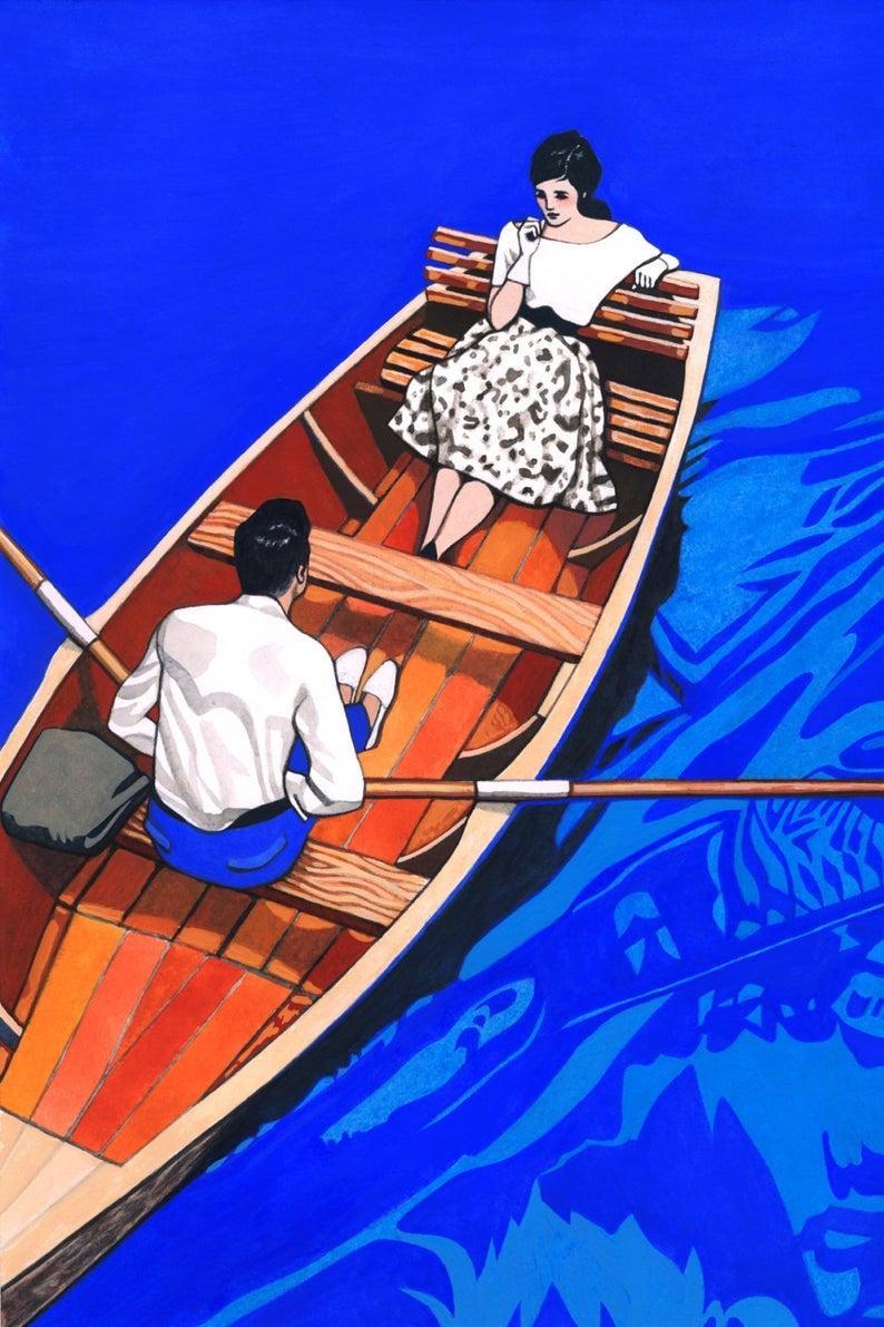 Image of Dreamboat Print by Renee Staeck