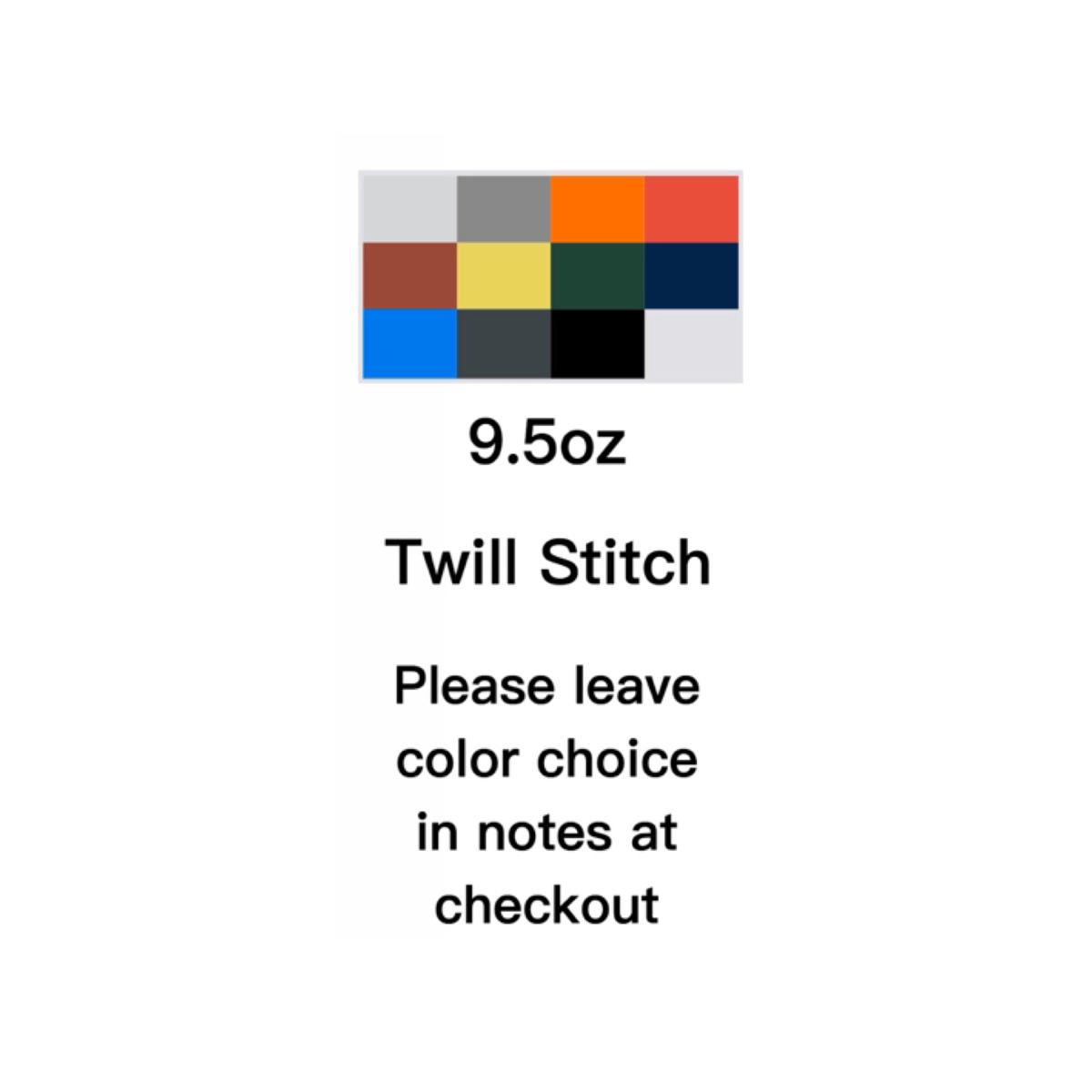 Image of KOS 9.5oz Twill Stitch Customers Choice