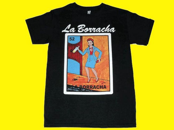 Image of La Borracha Loteria T- shirt