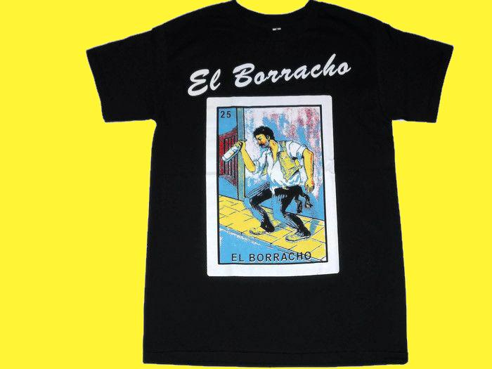 Image of El Borracho Loteria T-Shirt