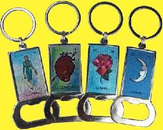 Image of Loteria Key ring - bottle opener