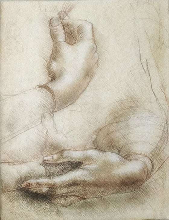 "Image of ""Study of hands"""
