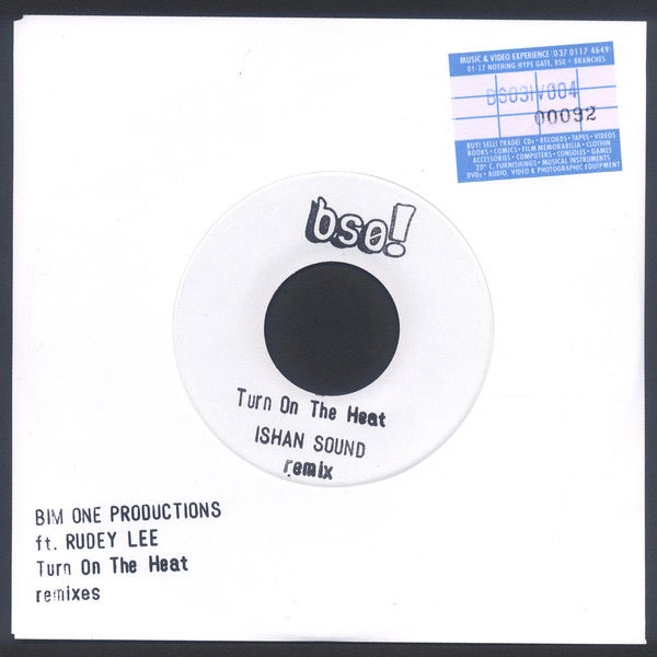 Image of Bim One Production feat. Rudey Lee / Turn On The Heat Remixes