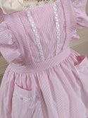 Classic Pinafore - Pink