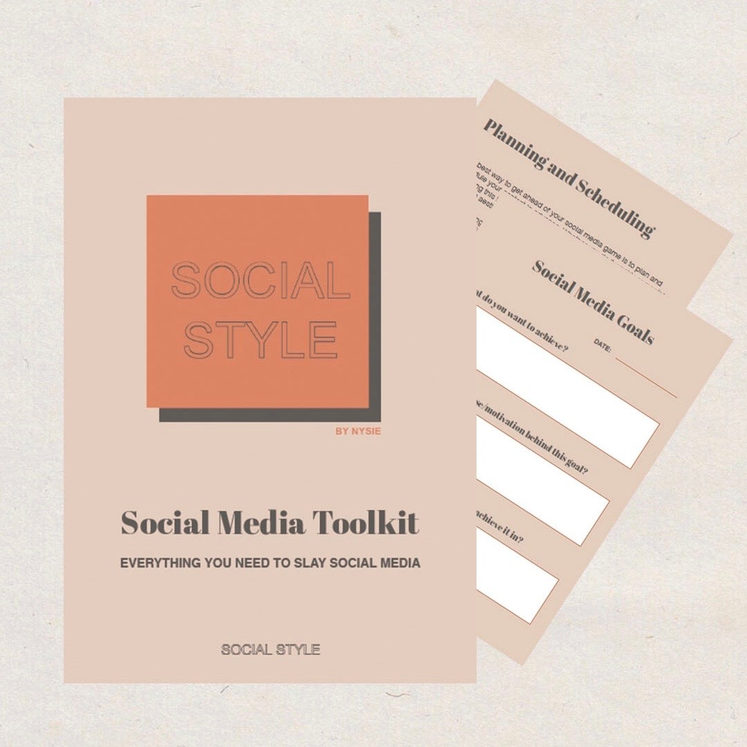 Social Media Toolkit eBook - Everything You Need To Slay Social Media