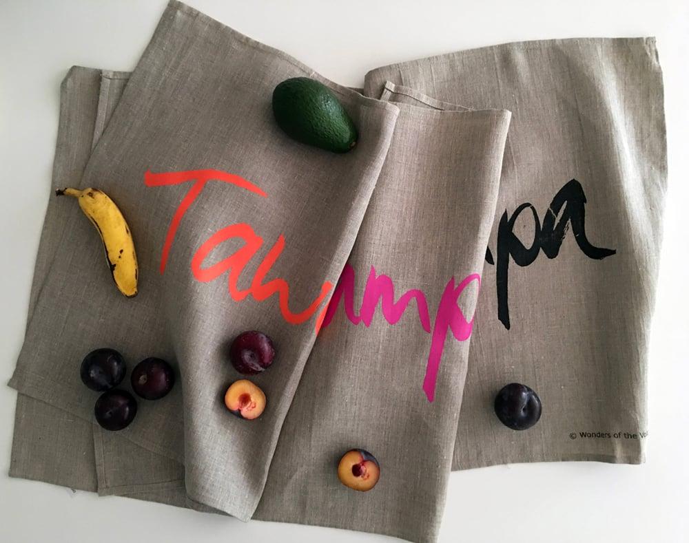 Image of 'Tawampa' tea towel