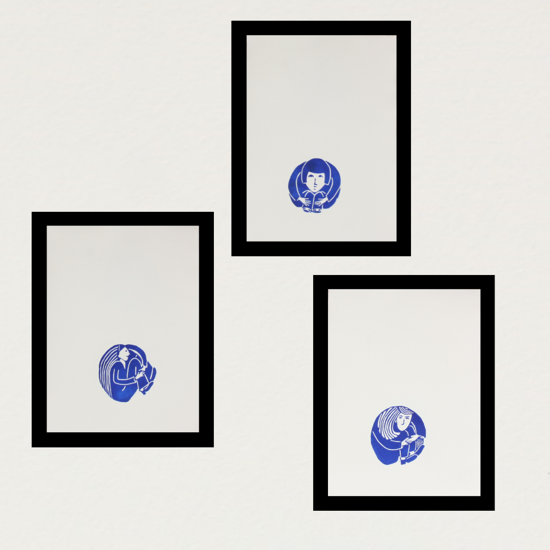 Image of A Small Blue Thing - Collection of 3