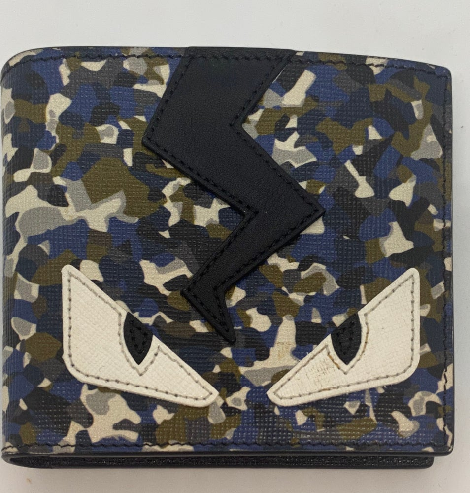Image of Fendi Monster Bifold Wallet