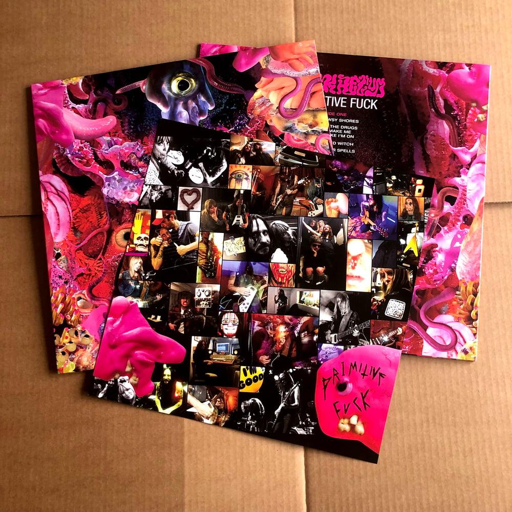 BLACK HELIUM 'Primitive Fuck' Pink Vinyl LP
