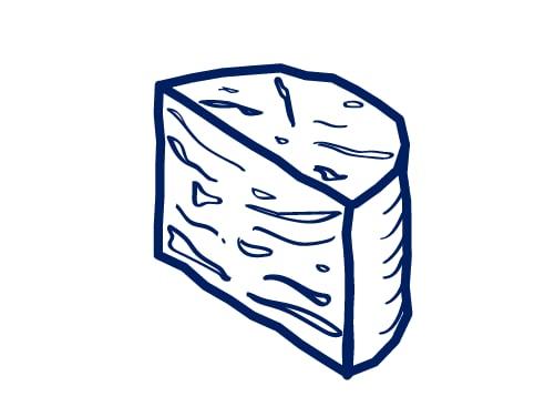 Stichelton Cheese - Quarter