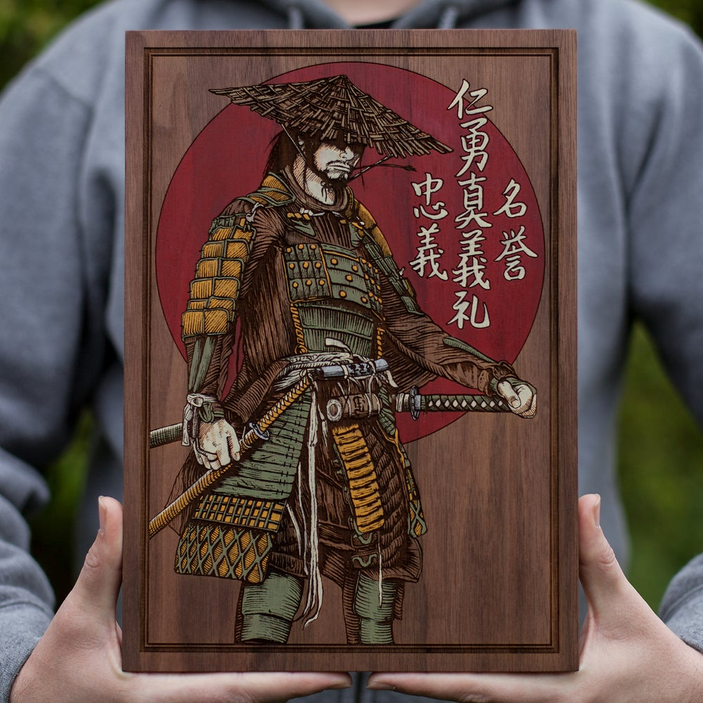 Image of Ronin - Engraved Painting - Edition of 10