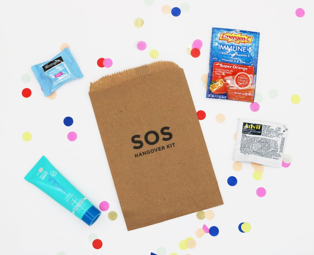 Image of SOS Paper Bag Hangover Kit