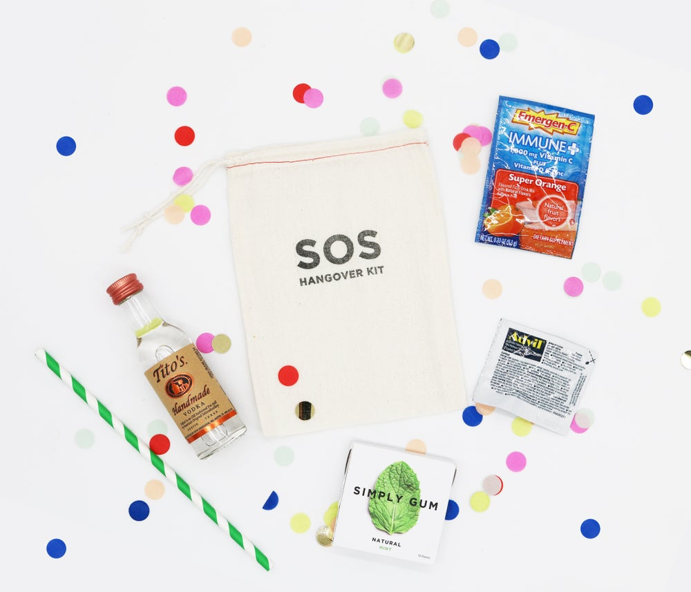 Image of SOS Hangover Kit