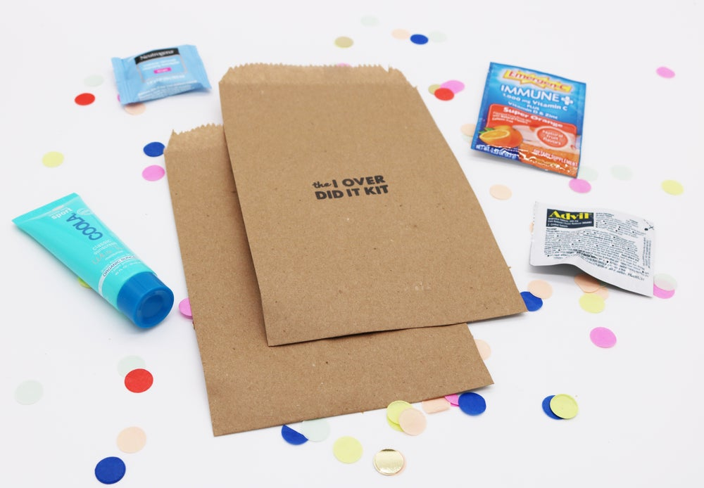 Image of I Over Did It Paper Bag Hangover Kit