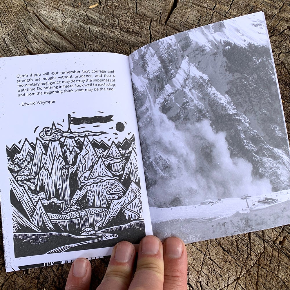 Image of Mountains I Have Known - Zine