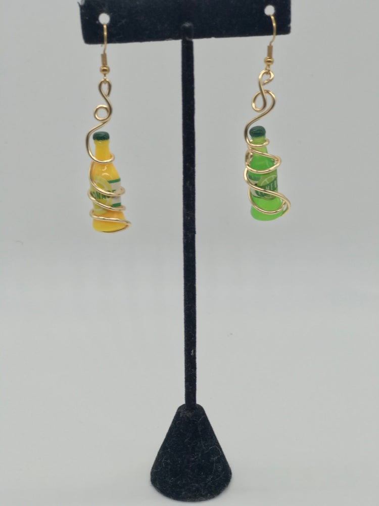 Image of Lemon lime earrings