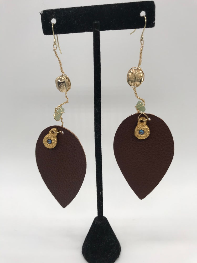 Image of Goddess earrings