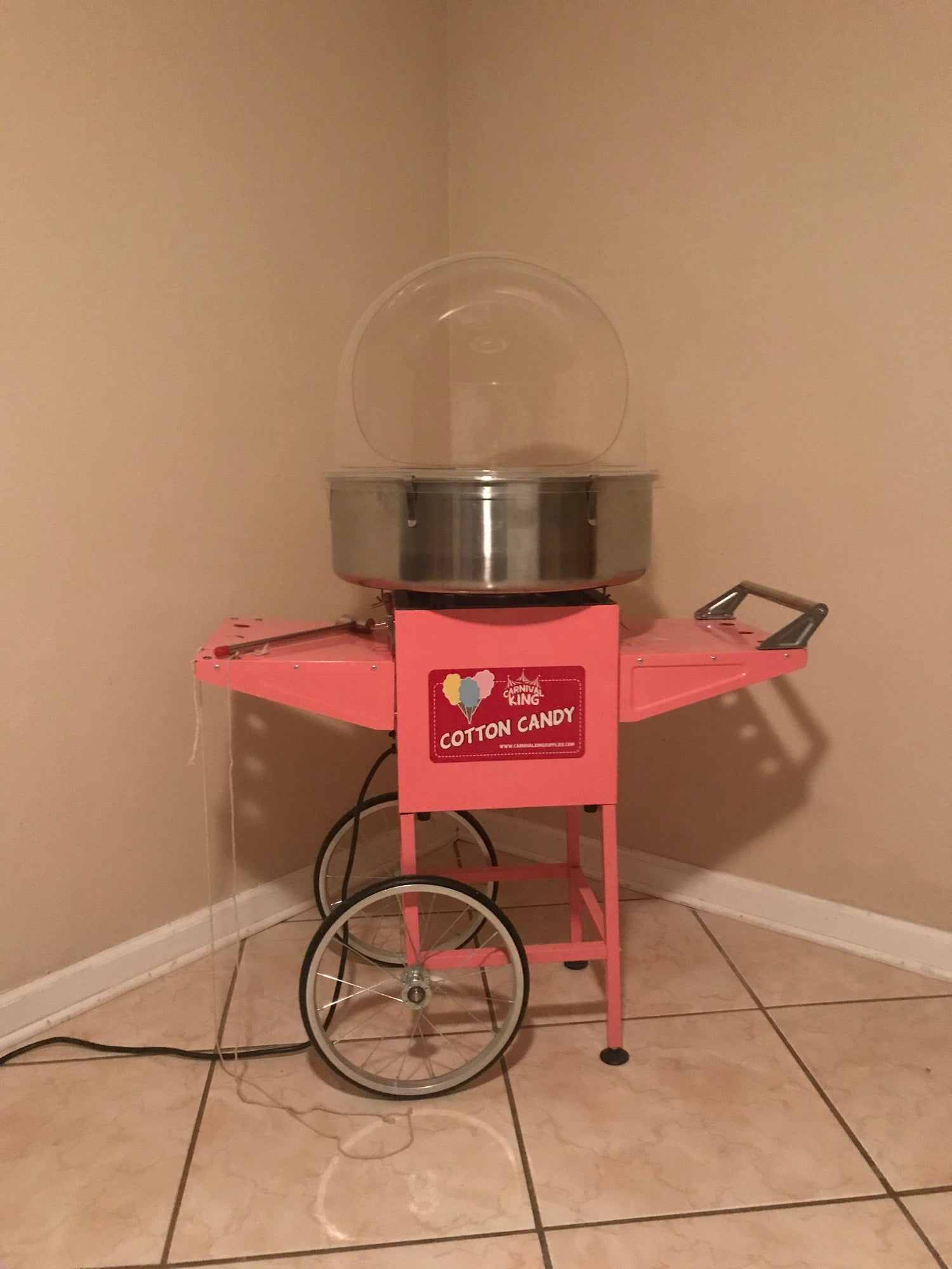Cotton candy machine #2
