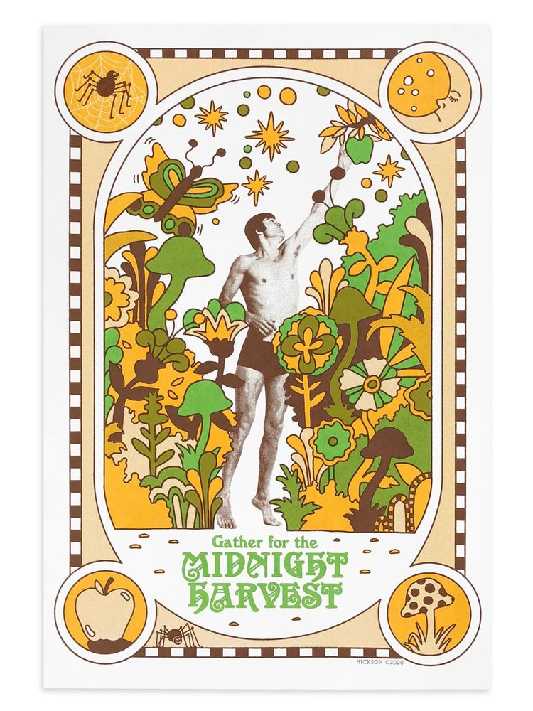 Image of Midnight Harvest screenprint
