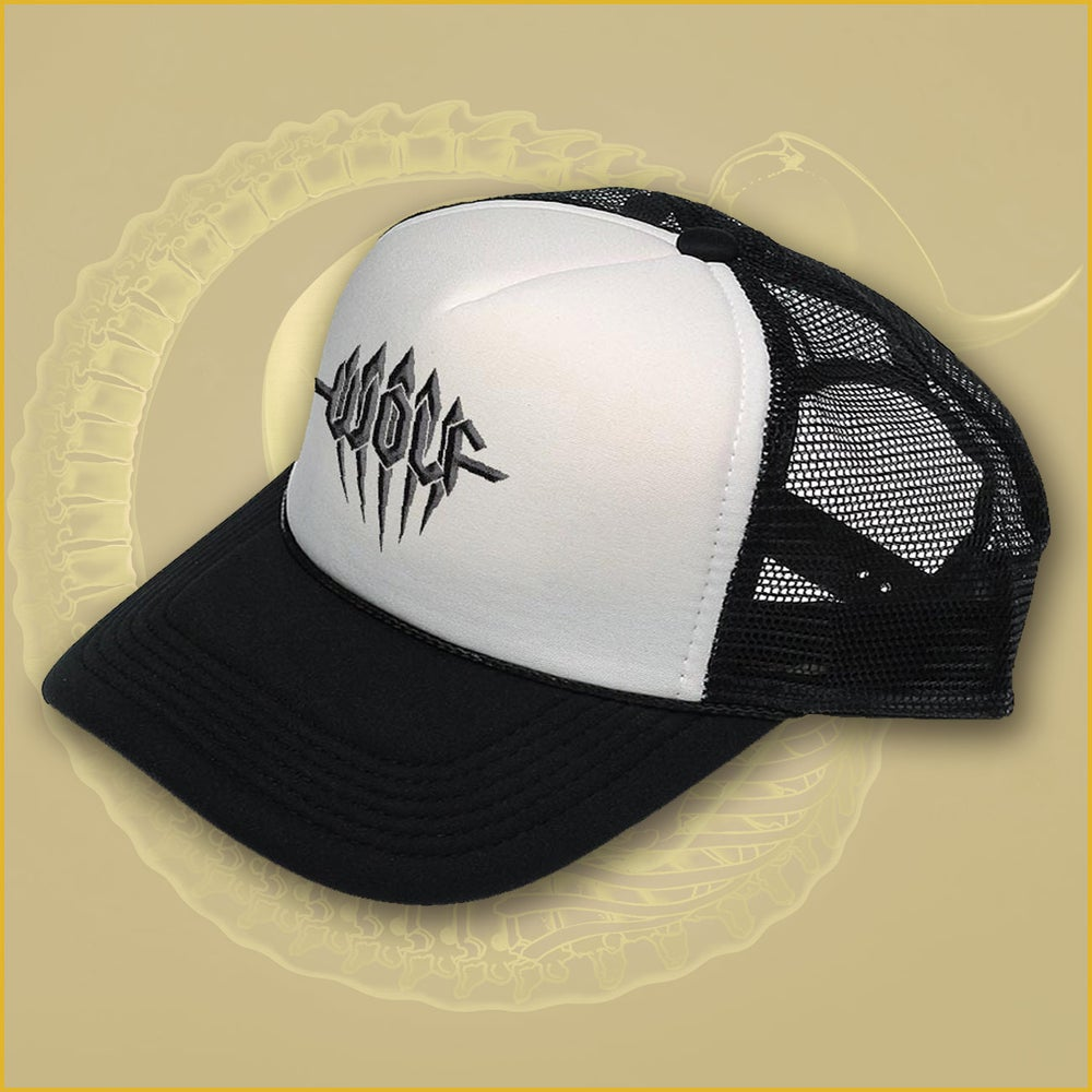 Image of Trucker Hat with embroidered logo