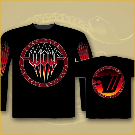 Image of Long Sleeve - Real Metal for True Bastards