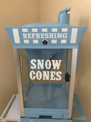 Sno-cone machine #2