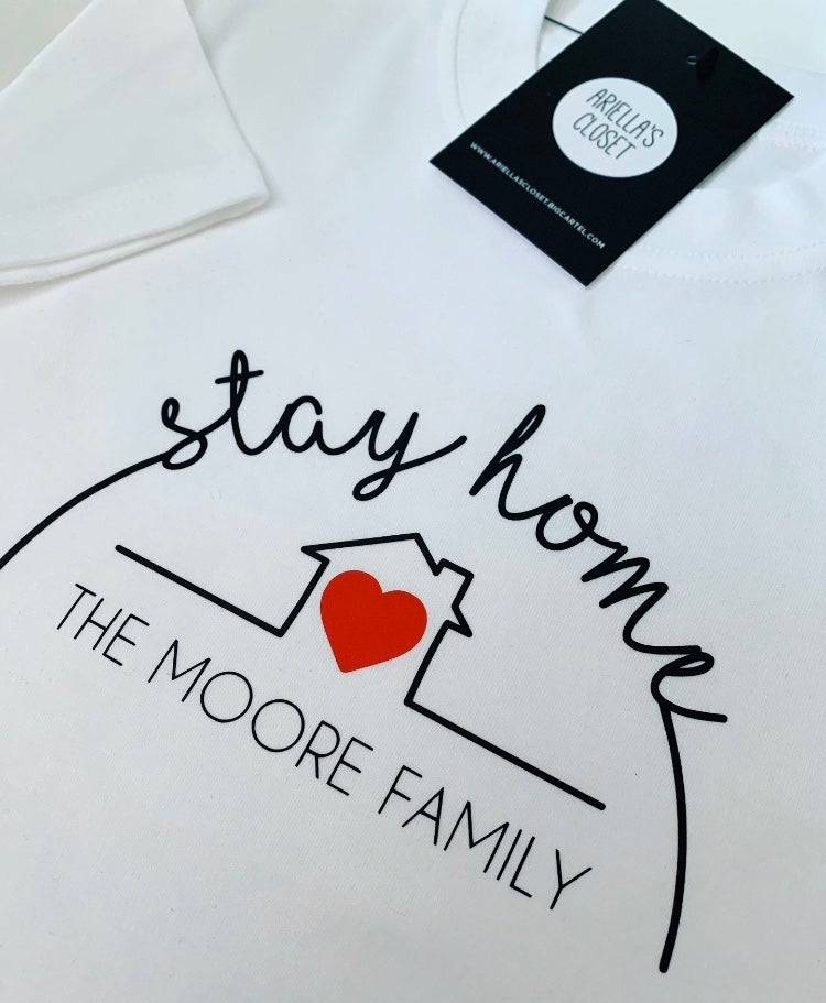 Image of Personalised Stay Home