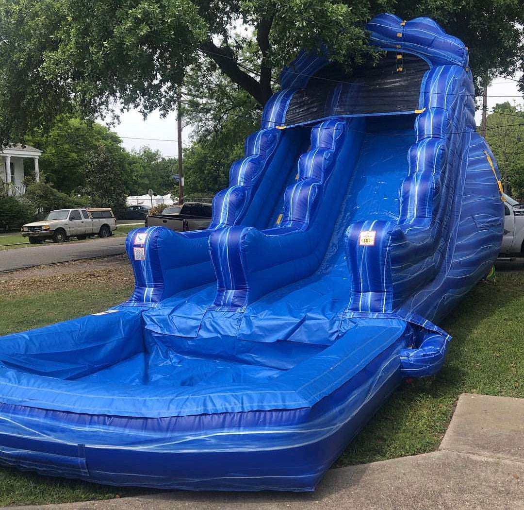18ft Water Wave Blue