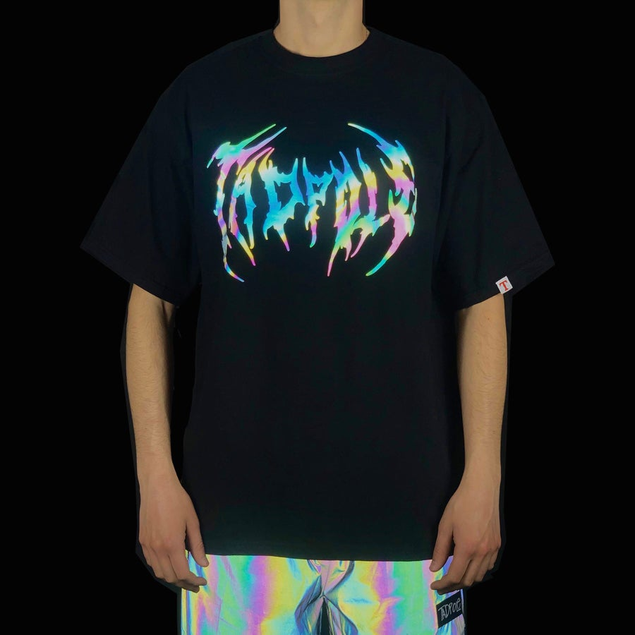 Image of 3M RAINBOW TEE Black