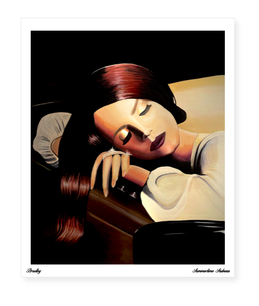 Image of Summertime Sadness Limited Edition Poster Print