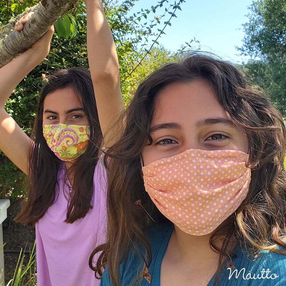 Image of Child Cloth Face Covering / Face Mask - Washable & Reusable - Free Shipping to USA