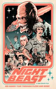Image of NIGHTBEAST Riso Poster