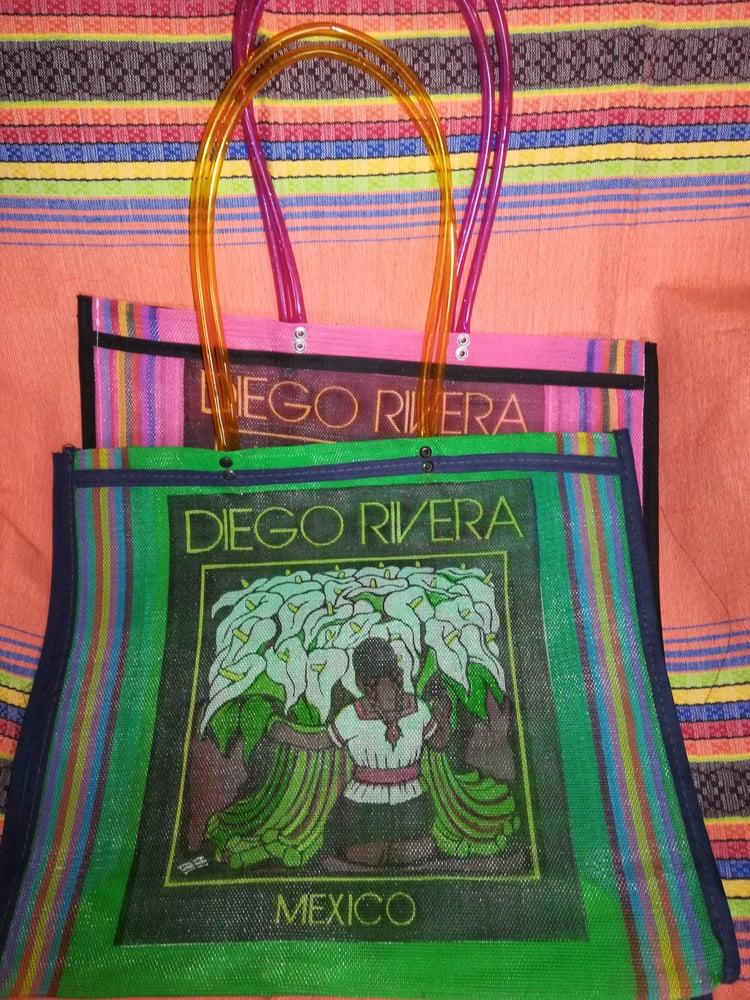 Image of Diego Rivera market bolsas