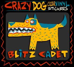 Image of Crazy Dog  Stickers