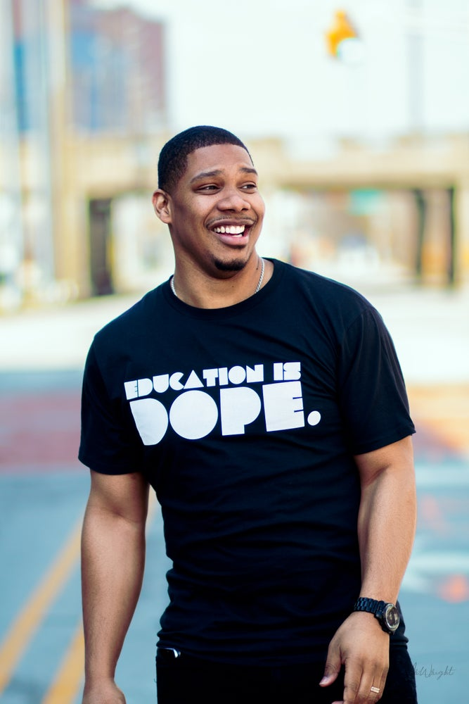 Image of EDUCATION IS DOPE RETRO SHIRT