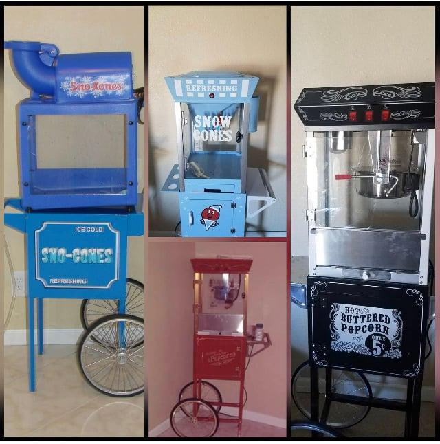Any three concession machines