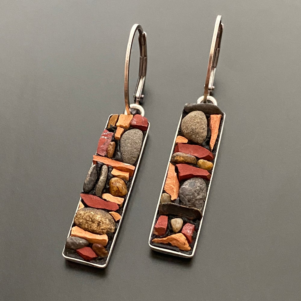 Image of Chimney River Rock Earrings