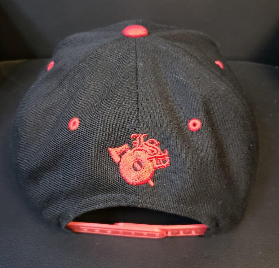 Image of DONNIE MENACE: EMBROIDERED SNAPBACK HAT